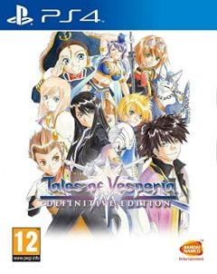 Jaquette de Tales of Vesperia Definitive Edition PS4