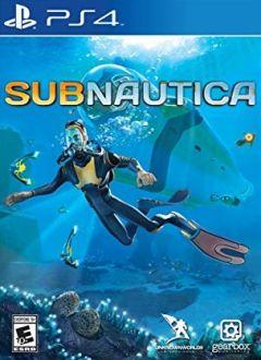 Jaquette de Subnautica PS4