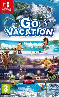 Jaquette de Go Vacation Nintendo Switch