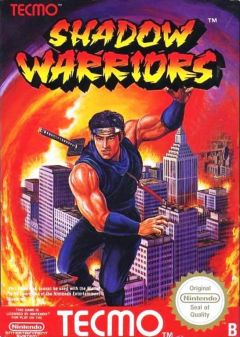 Jaquette de Shadow Warriors NES
