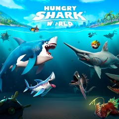 Jaquette de Hungry Shark World Nintendo Switch