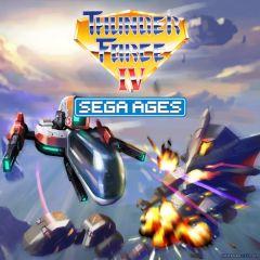 Jaquette de Thunder Force IV Nintendo Switch