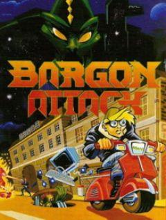 Jaquette de Bargon Attack Amiga