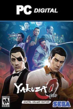Jaquette de Yakuza 0 PC