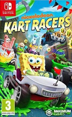 Jaquette de Nickelodeon Kart Racers Nintendo Switch