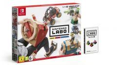 Jaquette de Nintendo Labo - ToyCon 03 : Kit Véhicules Nintendo Switch