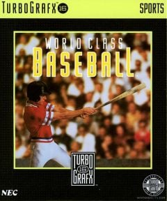 Jaquette de World Class Baseball PC Engine