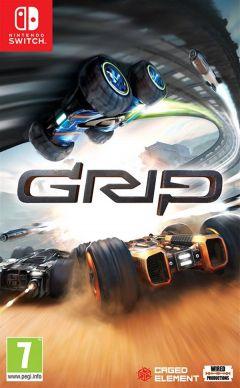 Jaquette de GRIP : Combat Racing Nintendo Switch