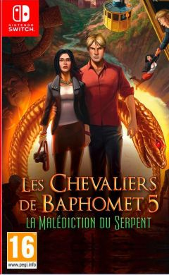 Jaquette de Les Chevaliers de Baphomet 5 : La Malédiction du Serpent (Episode 1) Nintendo Switch
