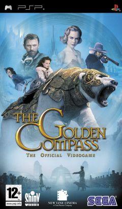 Jaquette de A la Croisée des Mondes : La Boussole d'Or PSP
