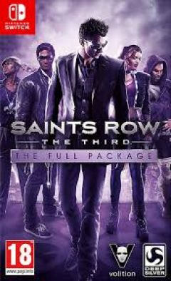 Jaquette de Saints Row : The Third Nintendo Switch