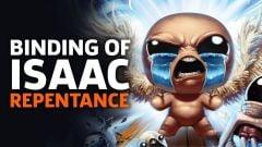 Jaquette de The Binding of Isaac : Repentance PC