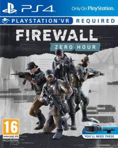 Jaquette de Firewall : Zero Hour PS4