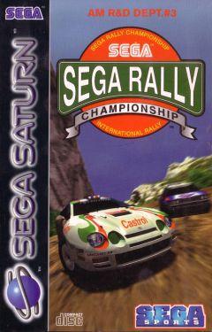 Jaquette de Sega Rally Championship Sega Saturn