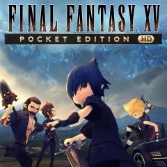 Jaquette de Final Fantasy XV Pocket Edition HD Nintendo Switch
