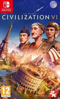 Jaquette de Sid Meier's Civilization VI Nintendo Switch