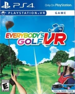 Jaquette de Everybody's Golf VR PS4