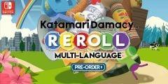 Jaquette de Katamari Damacy Reroll Nintendo Switch