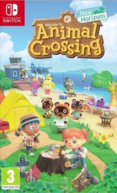 Jaquette de Animal Crossing : New Horizons Nintendo Switch