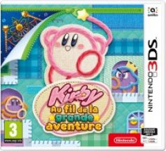 Jaquette de Kirby au Fil de l'Aventure Nintendo 3DS