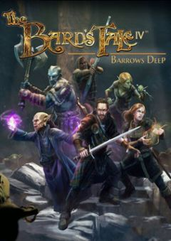 Jaquette de The Bard's Tale IV : Barrows Deep PS4