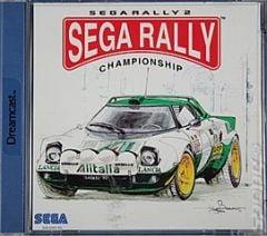 Jaquette de Sega Rally Championship 2 Dreamcast