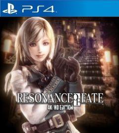 Jaquette de Resonance of Fate 4K/HD Edition PS4