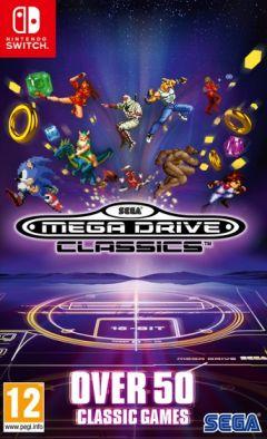 Jaquette de Sega Megadrive Classics Nintendo Switch