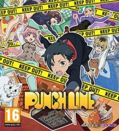Jaquette de Punch Line PS Vita