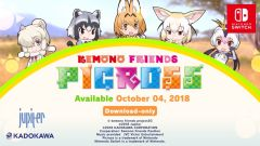Jaquette de Kemono Friends Picross Nintendo Switch