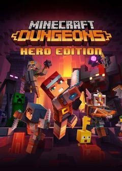 Jaquette de Minecraft Dungeons PC
