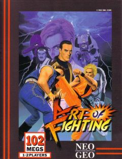 Jaquette de Art of Fighting NeoGeo