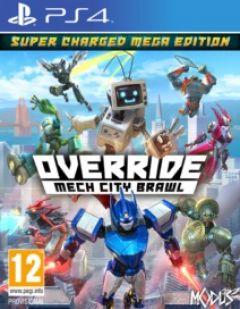 Jaquette de Override : Mech City Brawl PS4