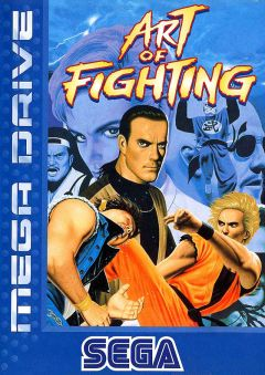 Jaquette de Art of Fighting Megadrive