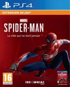 Jaquette de Marvel's Spider-Man : La Ville qui ne dort jamais - Le Retour de Silver PS4