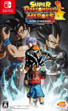 Jaquette de Super Dragon Ball Heroes : World Mission Nintendo Switch