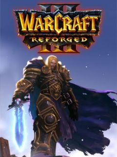 Jaquette de Warcraft III : Reforged PC
