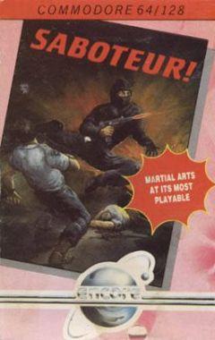 Jaquette de Saboteur ! (original) Amstrad CPC