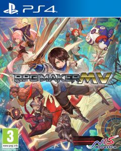 Jaquette de RPG Maker MV PS4