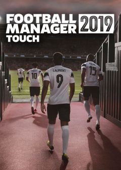 Jaquette de Football Manager 2019 Touch Nintendo Switch