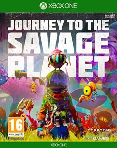 Jaquette de Journey to the Savage Planet Xbox One