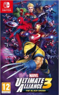 Jaquette de Marvel Ultimate Alliance 3 : The Black Order Nintendo Switch