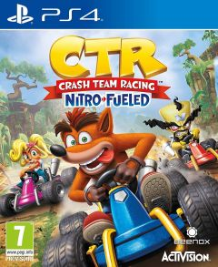 Jaquette de Crash Team Racing : Nitro Fueled PS4