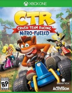 Jaquette de Crash Team Racing : Nitro Fueled Xbox One