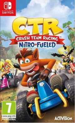 Jaquette de Crash Team Racing : Nitro Fueled Nintendo Switch