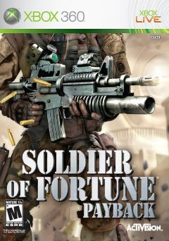 Jaquette de Soldier of Fortune : Payback Xbox 360
