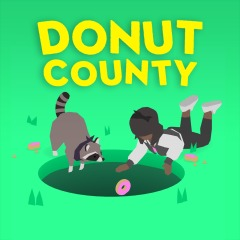 Jaquette de Donut County Nintendo Switch