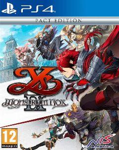 Jaquette de Ys IX : Monstrum Nox PS4