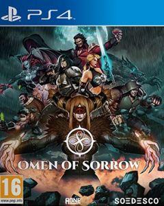 Jaquette de Omen of Sorrow PS4