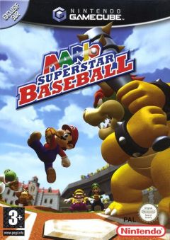 Jaquette de Mario Superstar Baseball GameCube